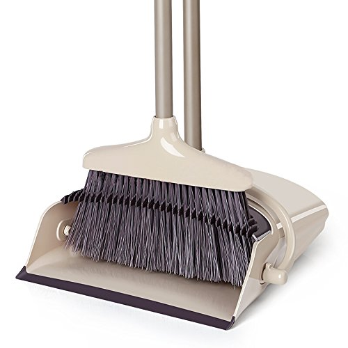 Like Broom And Dustpan Set Dust Pan Standing Upright Sweep