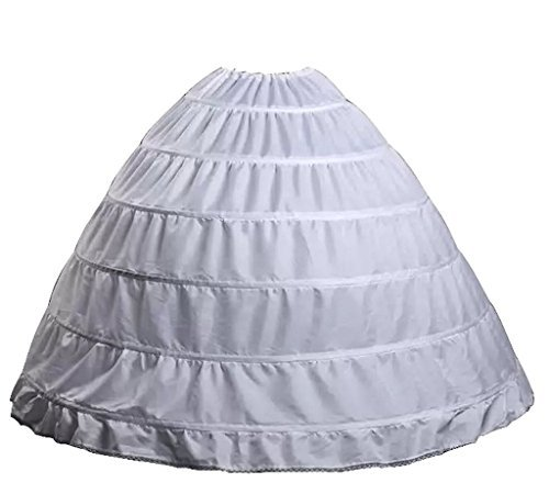 153e3e932661 ... Bridal Crinoline Petticoat Hoop Skirt One Size White. It is very easy  to wash hoods are removable and take care and very strong to hold the gown.