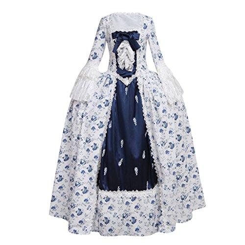 4adc7170c881 Zukzi Women's Prom Gothic Victorian Fancy Palace Masquerade Dresses ...